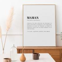 Affiche definition maman