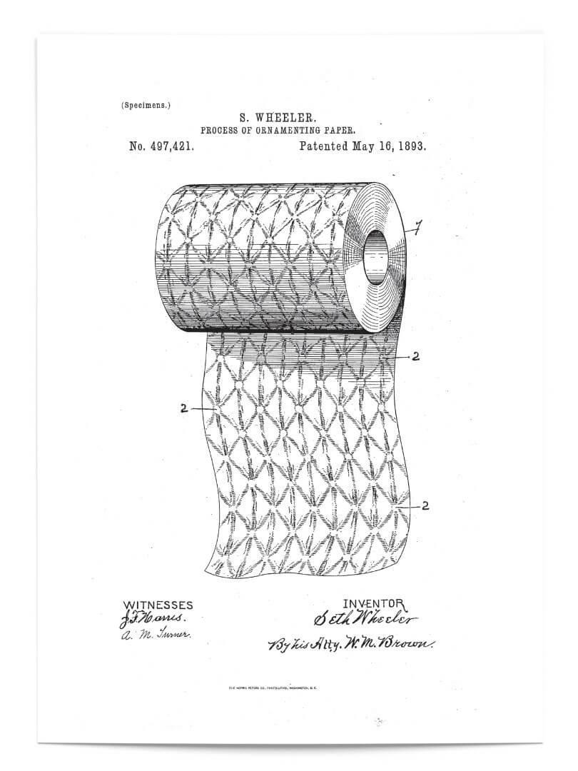 Brevet papier toilette 1