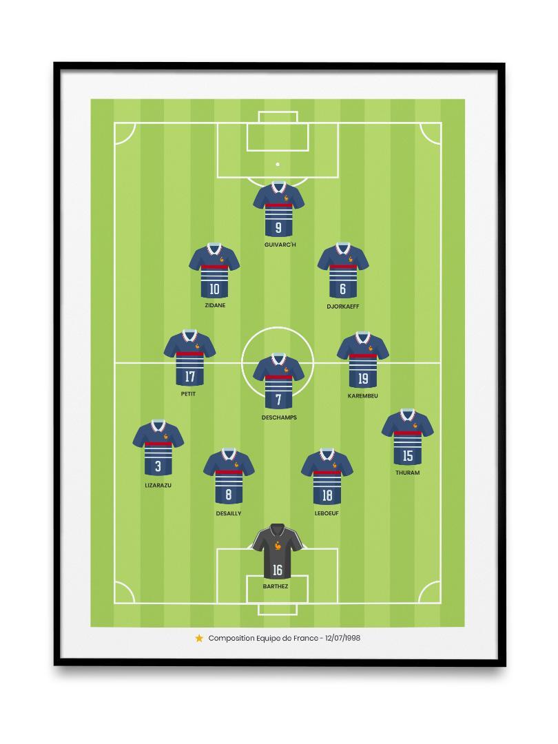 Equipe de france 1998 lcf196 3
