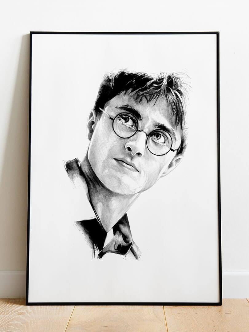 Harry potter portrait