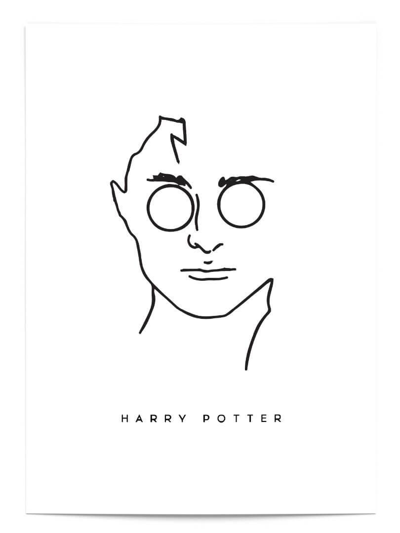 Hearry potter minimalist