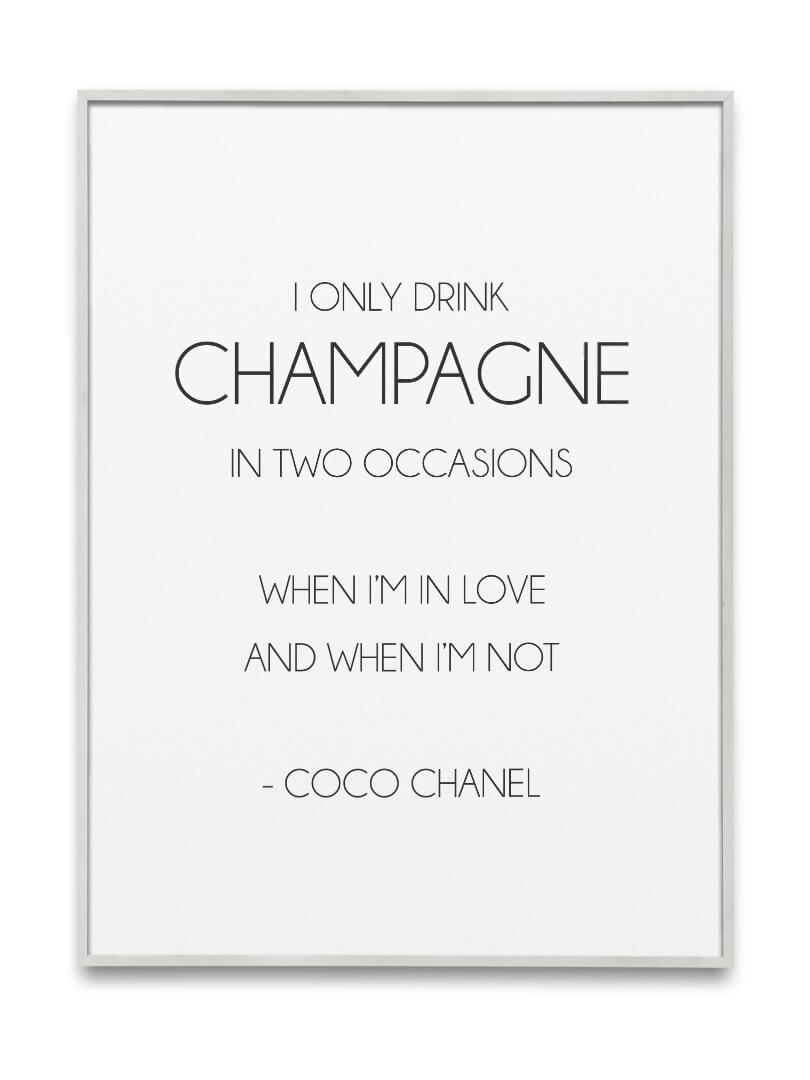 I only drink champagne 4