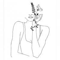 La jeune fille aux fleurs 1